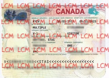 Visa to canada congratulations